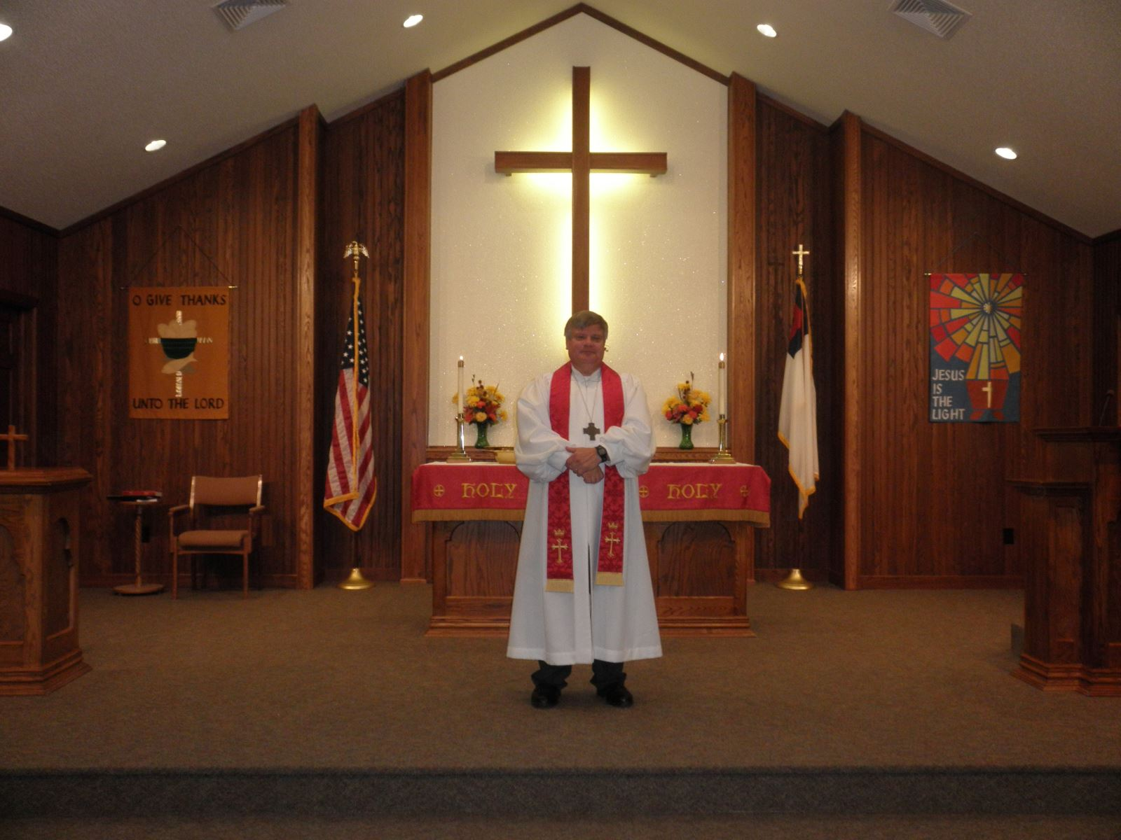 Pastor James Weiland | Christ Ev. Lutheran Church, Merrill, WI | WELS